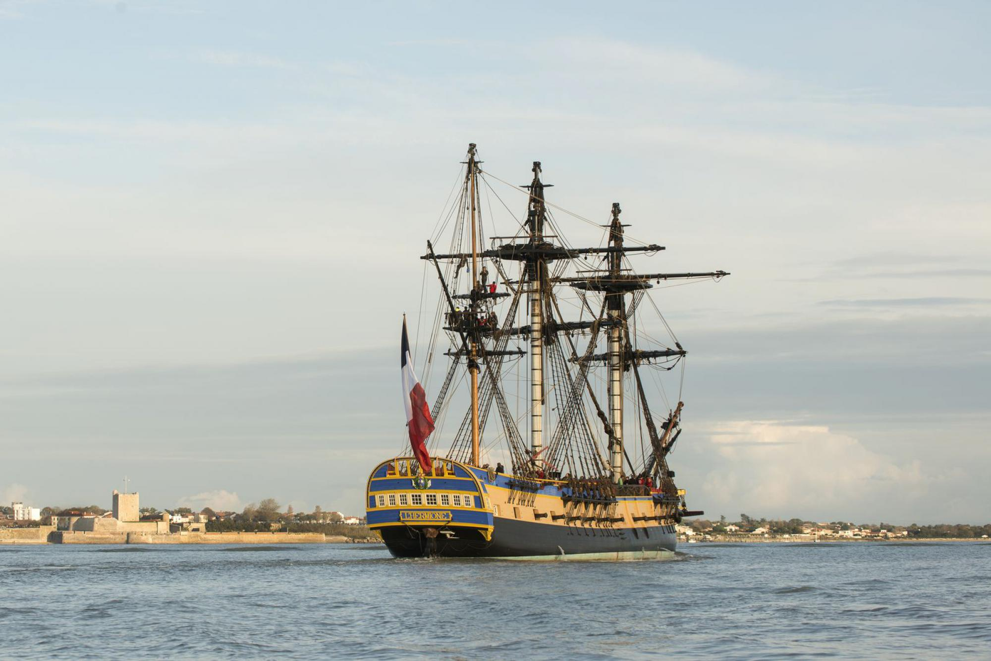 L'Hermione in Rochefort
